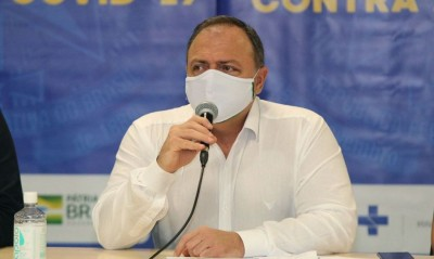 Ministro reafirma que vacinação deve começar ainda em janeiro (Foto: Euzivaldo Queiroz/Especial MS)