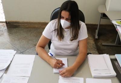 Secretária de Educação, Ana Paula Benites Fernandes, afirma que a primeira fase das matrículas na rede municipal de ensino ocorreu de forma tranquila  (Foto: Divulgação/Prefeitura)