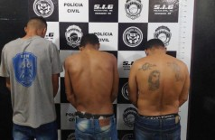 Três homens são presos após furtar agência dos Correios de Itaporã