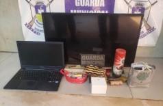 Guarda Municipal recupera objetos furtados e prende fugitivo do semiaberto em Dourados