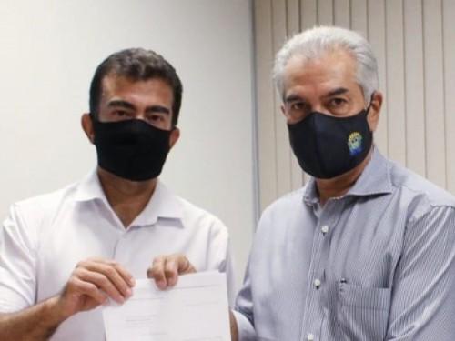 Reinaldo atende Marçal e prepara auxílio emergencial em MS