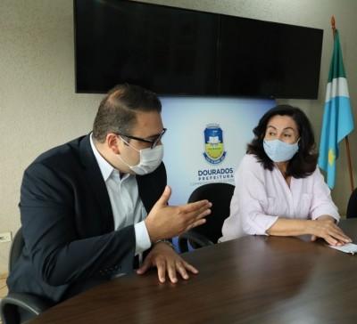 Alan Guedes determinou contingenciamento de R$ 61 milhões do orçamento, valor R$ 30 milhões superior ao contingenciado por Délia (Foto: Divulgação/Prefeitura de Dourados)