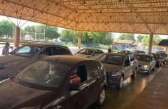 Drive-thru atenderá apenas idosos com 61 anos ou mais (Foto: Divulgação/Prefeitura)