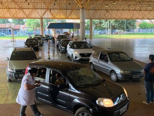 Até a tarde desta terça-feira Dourados vacinou 47.711 moradores contra a Covid-19 (Foto: Divulgação/Prefeitura)
