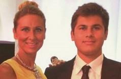 Tatiana com o filho Temur: também processado (Foto: Reprodução)