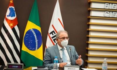 Declaração foi feita hoje durante encontro na Fiesp (Foto: Marcos Lopes/Ministério da Saúde)
