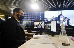 Ministro Carlos França falou hoje na CRE do Senado (Foto: Leopoldo Silva/Agência Senado)