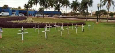 Agora, são 460 vítimas fatais entre moradores de Dourados e 262 de municípios da região (Foto: A. Frota/Arquivo)