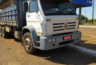 PRF recupera caminhão na BR-463 e desvenda sumiço de motorista