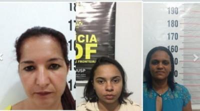 Polícia divulga fotos das mulheres que fugiram de delegacia