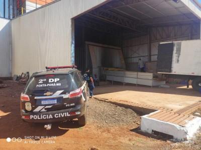 Delegacias de Polícia Civil de Ponta Porã realizam incineração de mais de 7 toneladas de drogas
