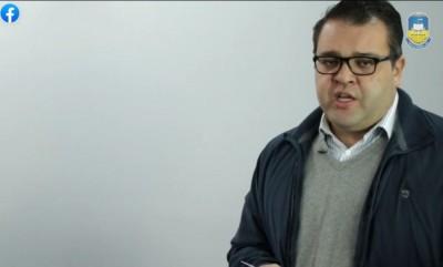 Prefeito Alan Guedes (PP) reconheceu o agravamento da pandemia em Dourados e região (Foto: Reprodução)
