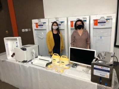 Os cinco Bancos de Leite Humano referenciados em Mato Grosso do Sul foram beneficiados com novos equipamentos (Foto: Divulgação/HU-UFGD)