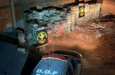 DOF prende 3 homens e apreende mais de 10 toneladas de maconha em Dourados