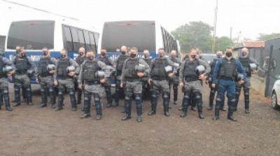 Batalhão de Choque chega a Dourados para apoiar fiscalização durante lockdown