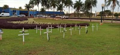 Dourados já soma mais de 500 mortes entre moradores locais atribuídas à Covid-19 (Foto: Arquivo)