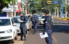 Equipes durante as fiscalizações em Dourados (Foto: Divulgação/Prefeitura de Dourados)