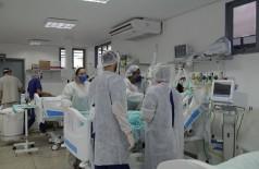 Dourados tem 71leitos de UTI ocupados com pacientes que tratam a Covid-19 atualmente (Foto: Marcos Silva/Divulgação)