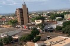 Dourados teve tempo nublado do longo do dia (Foto: 94FM)