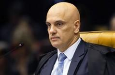 O ministro Alexandre de Moraes estabeleceu fiança de R$ 100 mil por violações do monitoramento eletrônico pelo parlamentar (Foto: Divulgação/STF)