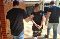 Homem é preso após arrombar sorveteria e roubar dinheiro