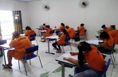Em MS, foram inscritos 2.096 reeducandos para a prova do Encceja deste ano (Foto: Divulgação/Agepen)