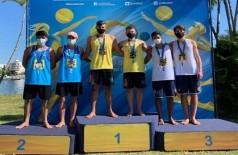 Cadu e Tonny são campeões invictos de etapa do Circuito Brasileiro Sub-19 de vôlei de praia