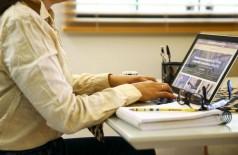Profissionais de nível superior foram a maioria em trabalho remoto (Foto: Marcelo Camargo/Agência Brasil)