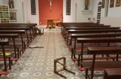 Estrangeiros são indiciados por suspeita de danos à igreja em Bonito