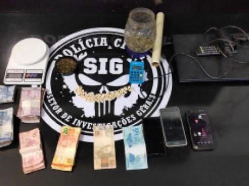 Mulher que vendia drogas no cartão de crédito e débito é presa em Dourados