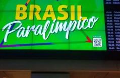 52 integrantes da delegação, entre eles 27 atletas, cumprem restrições (Foto: Reprodução Twitter/Comitê Paralíimpico Brasileiro)