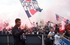 Foto: Reprodução Twitter/Paris Saint Germain