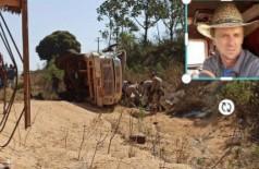 Identificado o motorista que morreu prensado em acidente