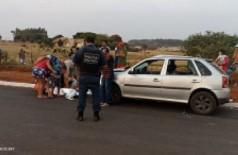 Crianças são atropeladas, uma morre e outra fica gravemente ferida