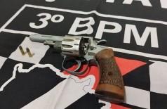 Polícia Militar de Dourados prende dois por furto e porte ilegal de arma de fogo