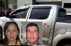 Casal é executado a tiros dentro de camionete na fronteira