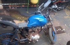 Moto furtada é recuperada pela Guarda Municipal na Vila Cachoeirinha