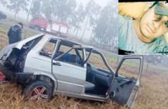 Capotamento mata motorista e deixa outros dois feridos em MS