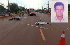 Idoso morre após bater moto de frente contra carro em Dourados