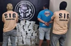 SIG apreende cocaína avaliada em mais de R$ 4 milhões na fronteira