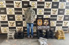 David disse que receberia um carregamento de drogas no sábado; Foto: Divulgação/Defron