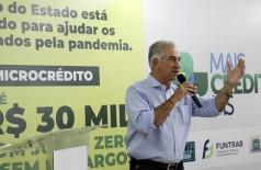 Estado teve capacidade para estender as mãos aos que mais precisam, avaliou Reinaldo Azambuja (Foto: Chico Ribeiro/Divulgação-GovernoMS)