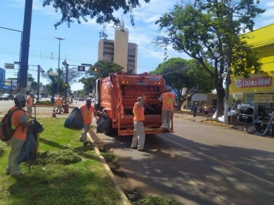 Taxa da coleta de lixo será cobrada a partir de 2022 em Dourados (Foto: Divulgação/Prefeitura)