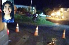 Universitária morre ao se envolver em acidente de moto na fronteira