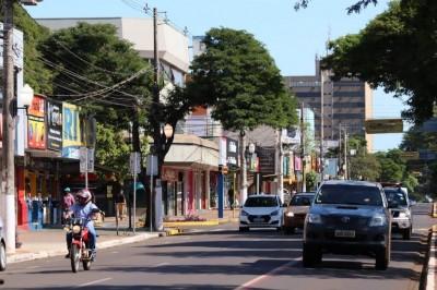 Dourados enfrenta nesta tarde de terça-feira (14) uma série de alertas climáticos (Foto: Divulgação/Prefeitura de Dourados)