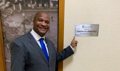 Foto: Reprodução/Perfil oficial Facebook/ vereador Sandro do Sindicato