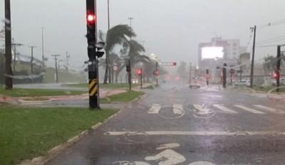 Chuvas retornam com grandes acumulados para região sul do Estado
