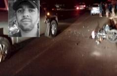 Motociclista morre após bater em 2 carros parados