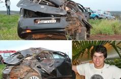 Rapaz morre depois de perder controle e capotar carro na MS-162