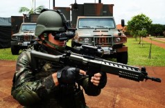Modelo de militar que deve atuar no Sistema Integrado de Monitoramento de Fronteiras (Jorge Cardoso)